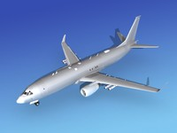 torpedoes boeing p-8 military aircraft 3ds