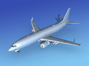 3d torpedoes boeing p-8 navy model