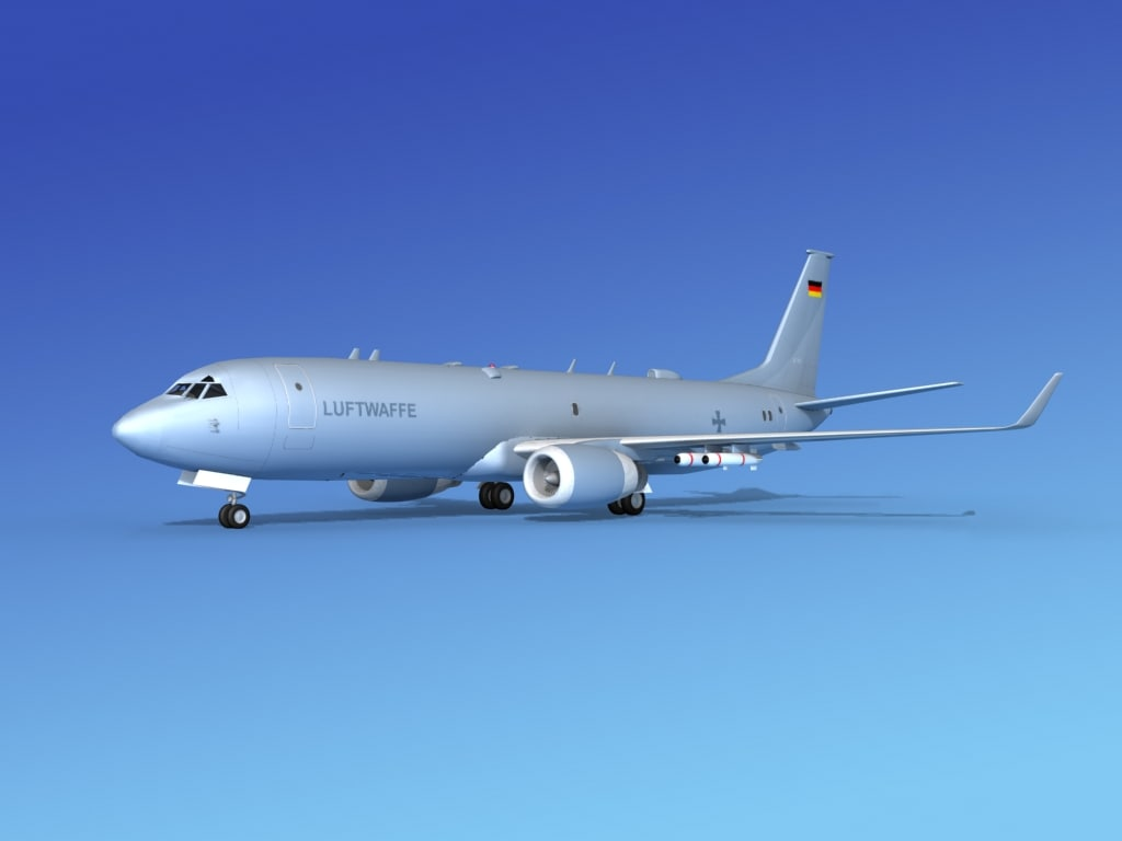 max torpedoes boeing p-8 recon