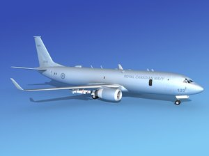 torpedoes boeing p-8 navy 3d model