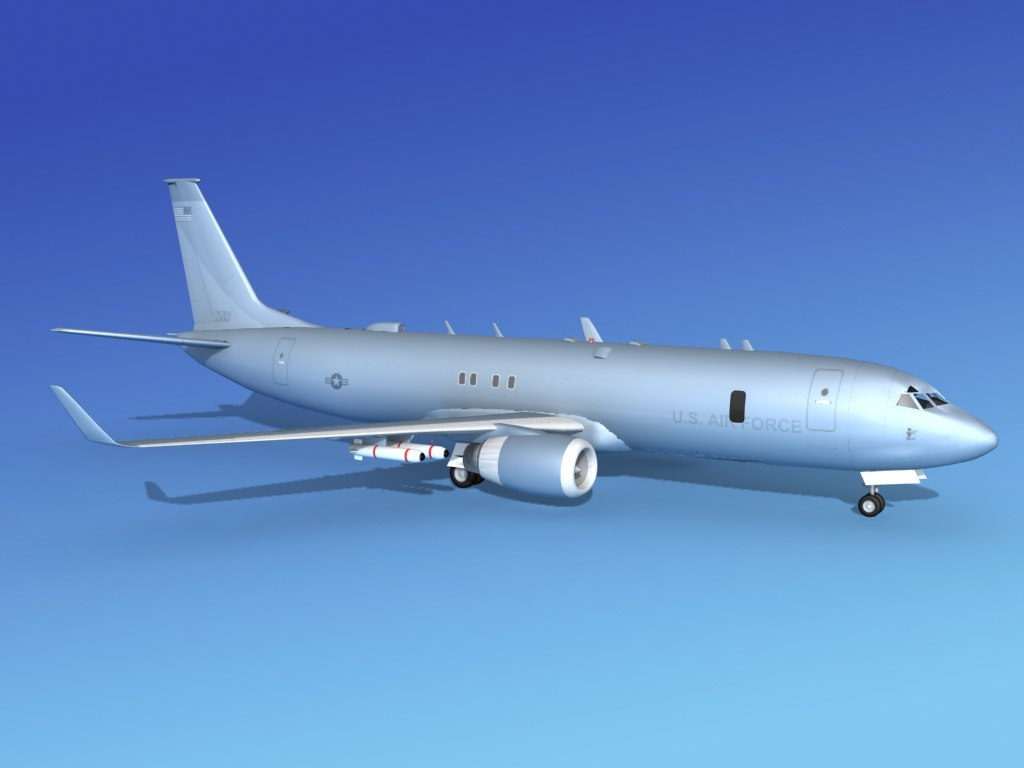 torpedoes boeing p-8 recon 3d max