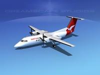 Dehaviland DHC-8-100 Qantaslink