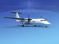 Dehaviland DHC-8-100 Unmarked 1