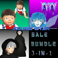 Azure Star SALE Bundle 3-In-1