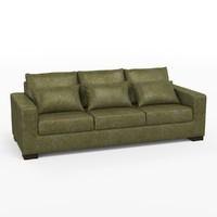 3d model rjones circa sofa