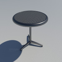 outdoor stainless steel table (60cm-24in)