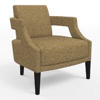 rjones andre chair 3d max