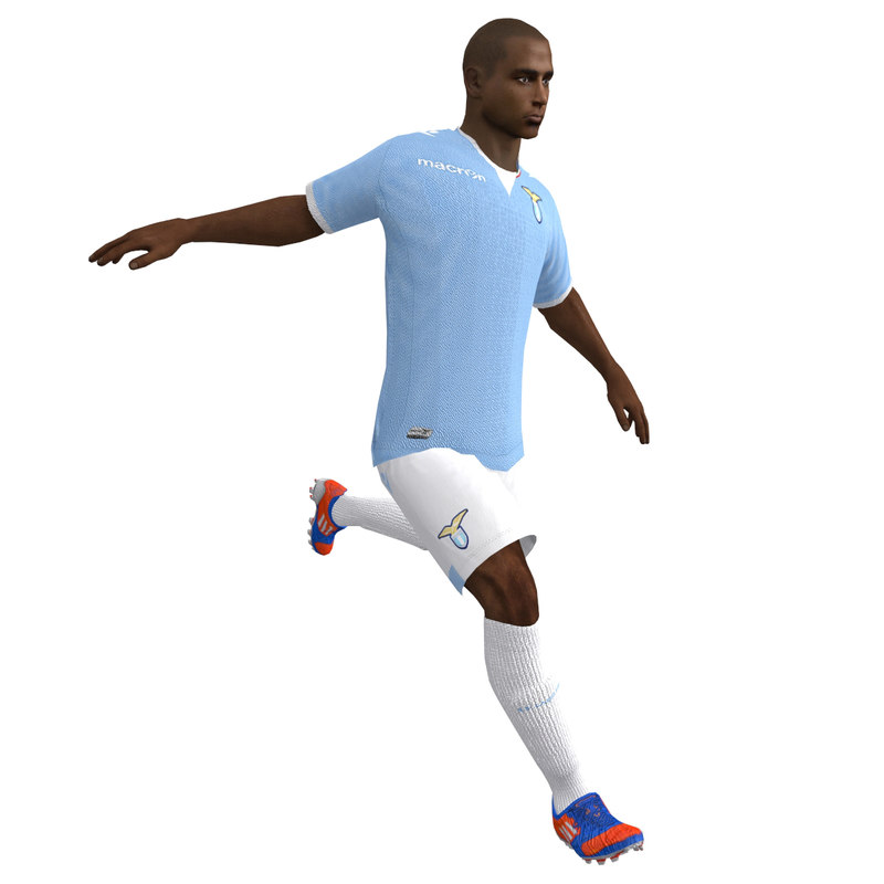 3068df4a47 3d model rigged soccer player