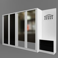 3d wardrobe coupe