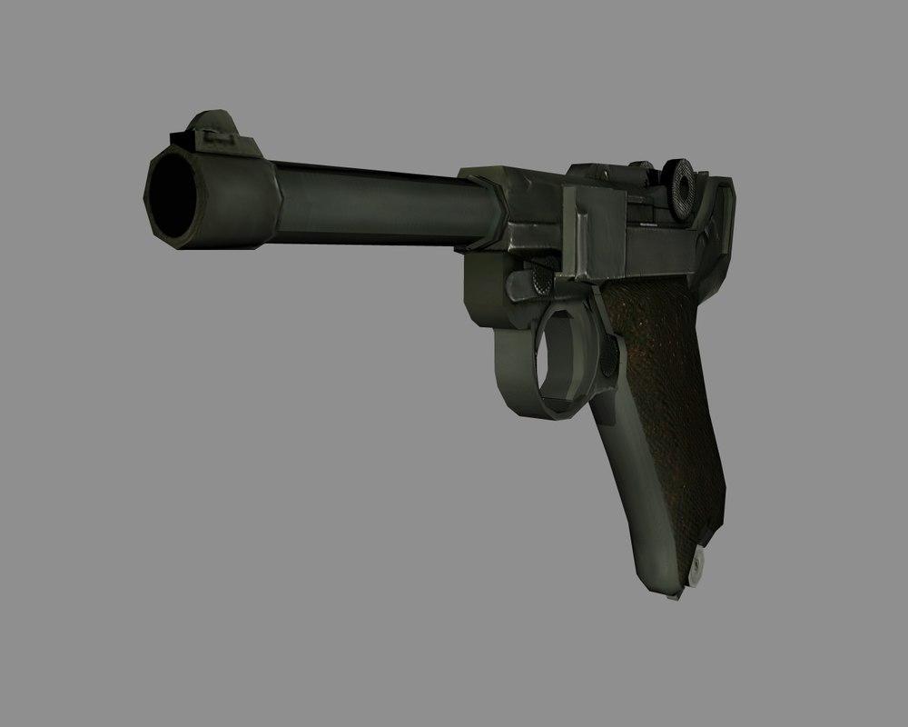 3d 3ds pistol