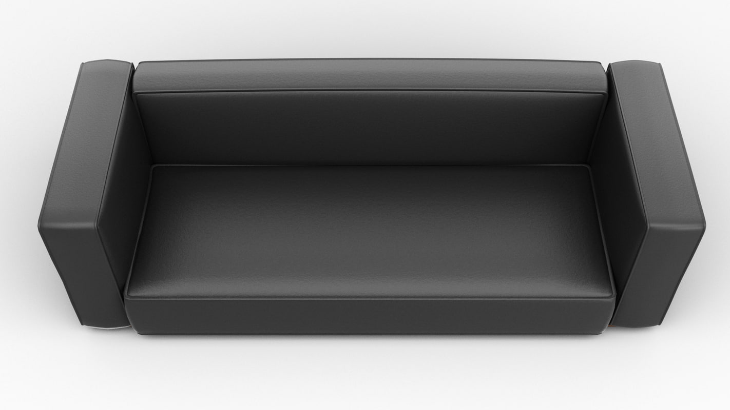 free modern sofa 3d model