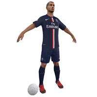 Soccer Player PSG