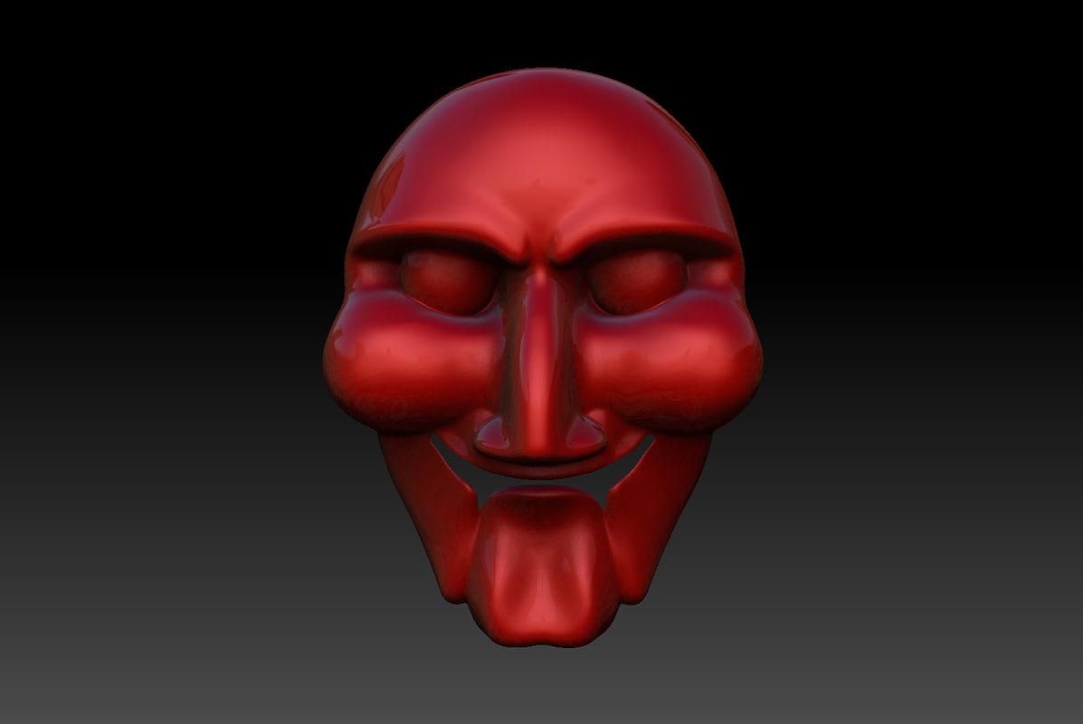 3d mask jigsaw killer model