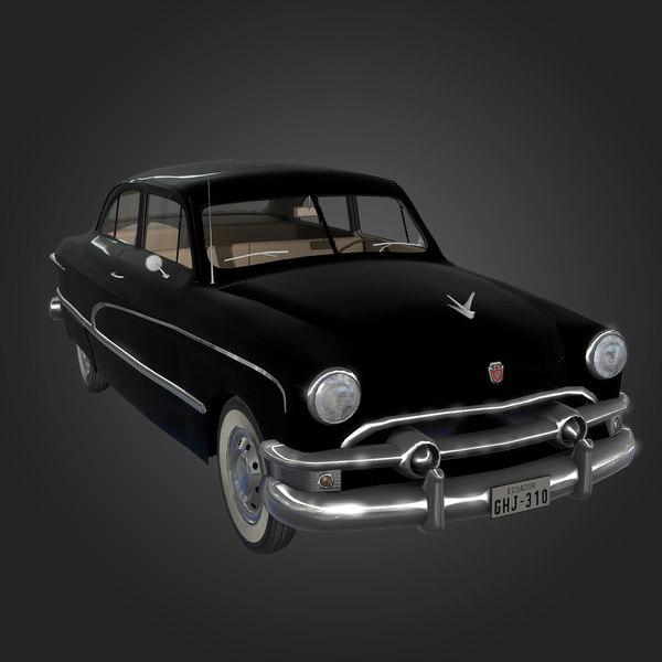 3d 1951 custom