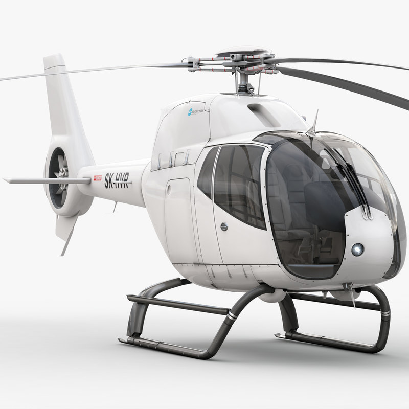 eurocopter ec 120 helicopter interior 3d max