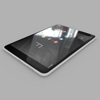 3d model nokia n1 tablet