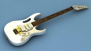 cinema4d electric guitar ibanez jem