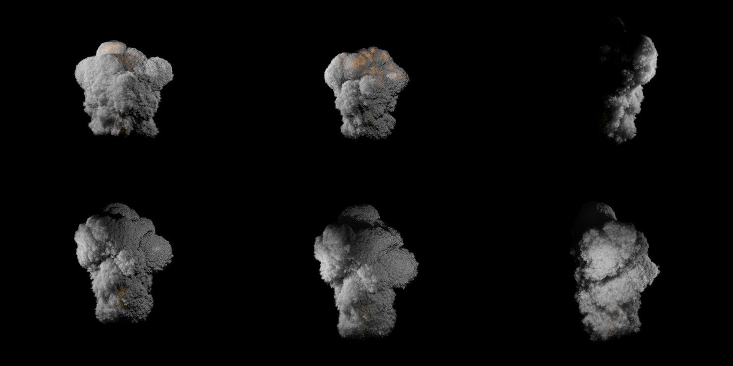3d explosion houdini pyrofx