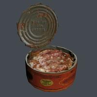 3d model tin stew