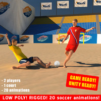 Beach Soccer Game Pack