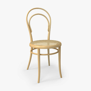 3d thonet chair 14