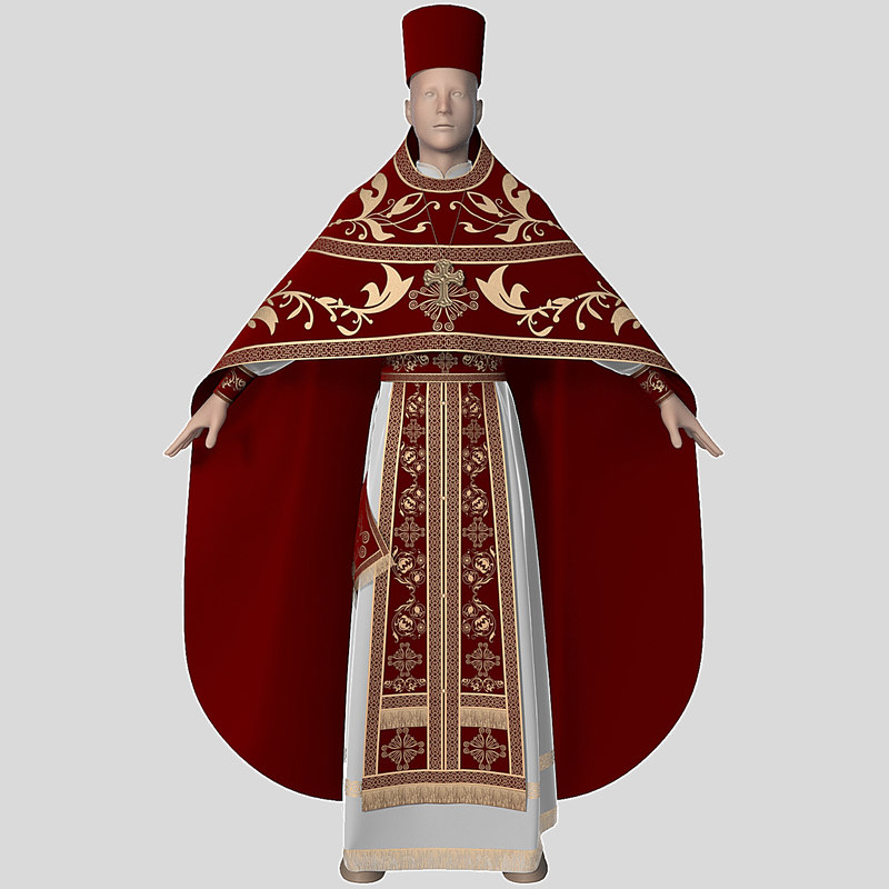 clothing priest 3ds
