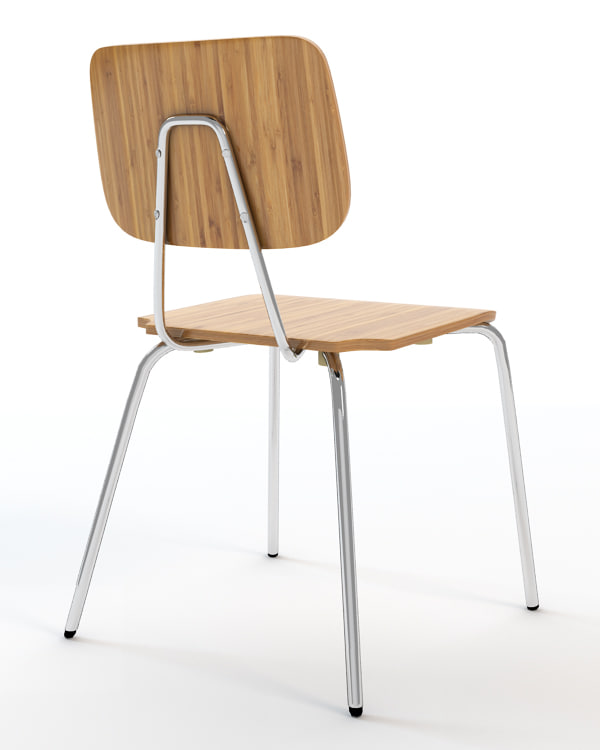 wynwood chair wood obj