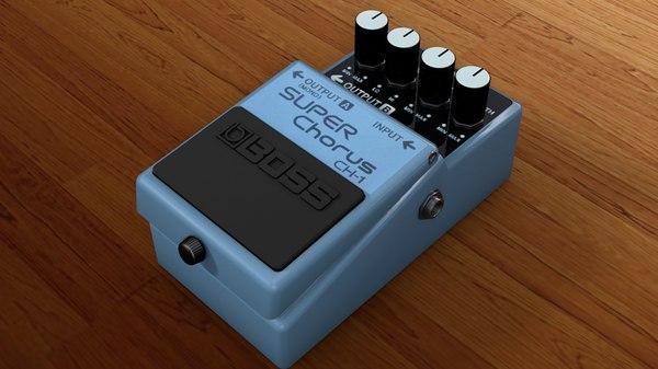 boss ch-1 3d model