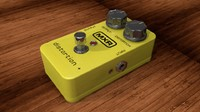 dunlop mxr micro distrortion 3d 3ds