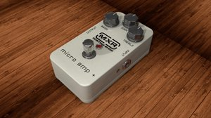 3d model of dunlop mxr micro amp