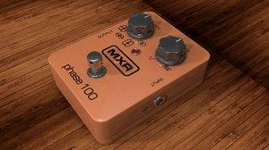dunlop mxr phase 100 3d model