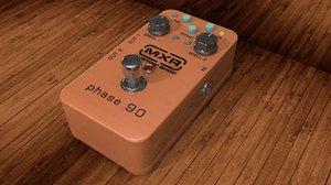 3d model dunlop mxr phase 99