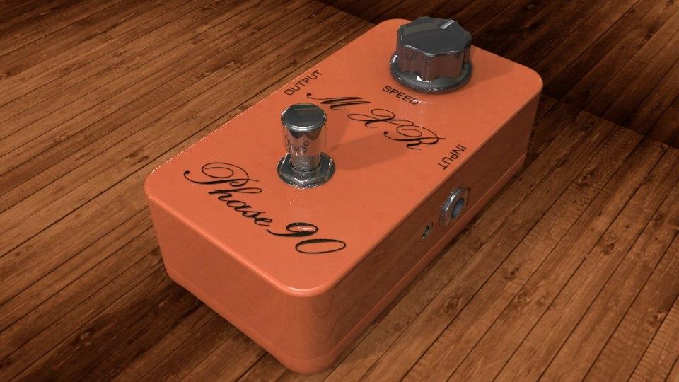 3d dunlop mxr vintage phase model