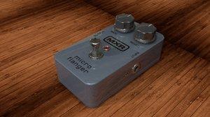 3d dunlop mxr micro flanger model