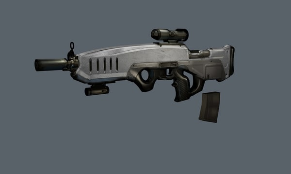3d compact rifle