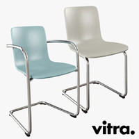 Vitra Hal Cantilever Chair Set