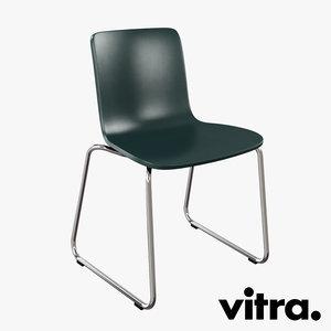 max vitra hal sledge chair