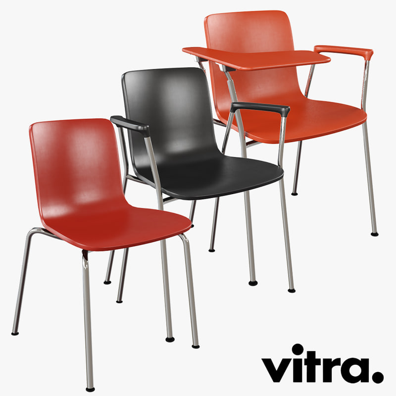 3d vitra hal tube chair