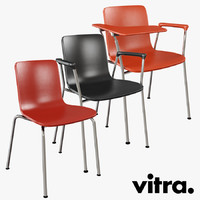 Vitra Hal Tube Chair Set