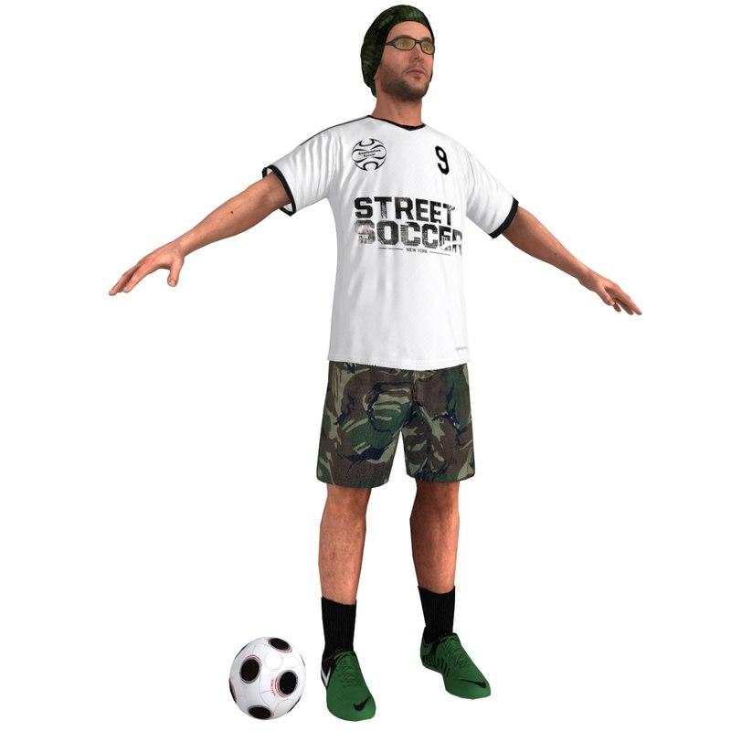 street soccer player 4 max