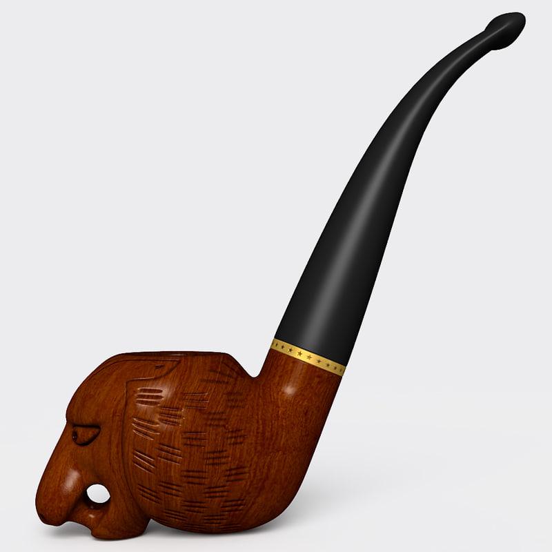 smoking pipe 3ds