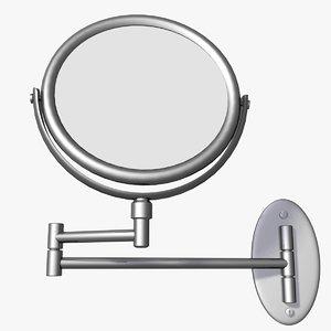 3d shaving mirror model