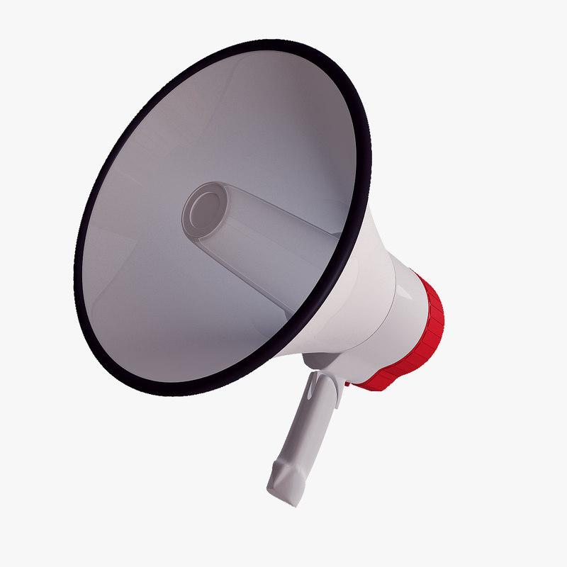 max megaphone loudhailer phone