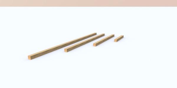 maya wood beams