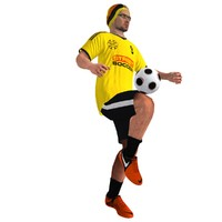 max rigged street soccer player