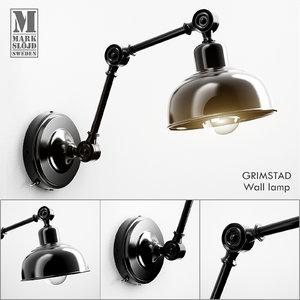 markslöjd wall lamp 3d model