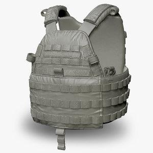 emerson 6094a bullet-proof vest model