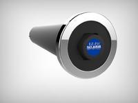 3d san cup dispenser model