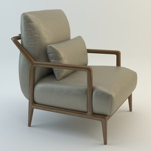 selva indigo armchair 3d max