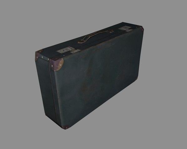 free suitcase 3d model